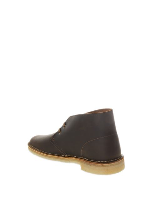Polacchino desert boot marrone wax CLARKS ORIGINAL | Stringate | 155484DESERTBOOT-BEES WAX