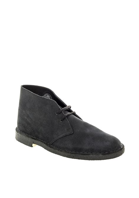 Polacchino desert boot blu CLARKS ORIGINAL | Stringate | 155571DESERTBOOT-NAVY