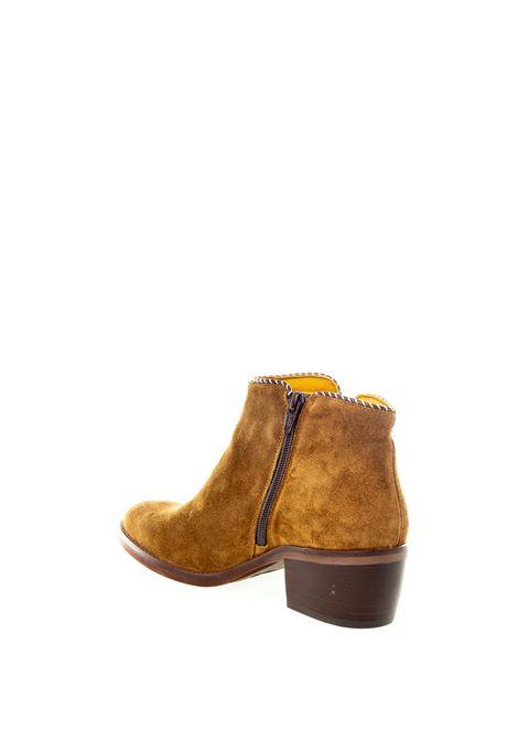 Dakota Boots tronchetto oil cuoio DAKOTA BOOTS | Tronchetti | 40OIL-CAPPUCCINO