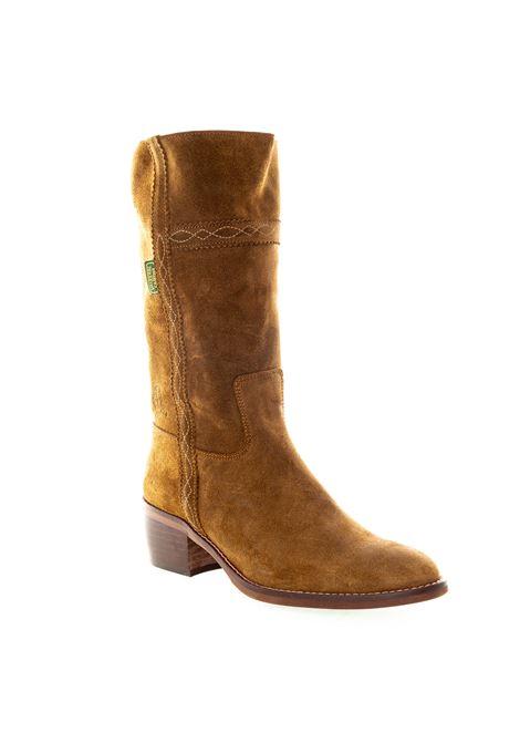 Dakota Boots stivale ricamo cuoio DAKOTA BOOTS | Stivali | 476OIL-CAPPUCCINO