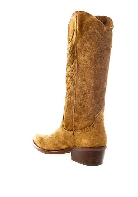 Dakota boots stivale camoscio cuoio DAKOTA BOOTS | Stivali | 67OIL-CAPPUCCINO