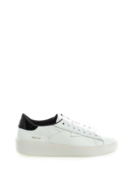 D.A.T.E sneaker ace bianco/nero D.A.T.E | Sneakers | ACE DCALF-WHI/BLACK