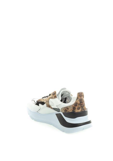 D.A.T.E sneaker fuga white/leopard DATE | Sneakers | FUGA DANIM-WHI/LEOP
