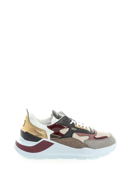 D.A.T.E. sneaker fuga bianco/oro DATE | Sneakers | FUGA DDRAGON-WHI/GOLD
