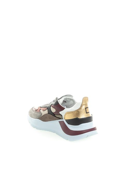 D.A.T.E. sneaker fuga bianco/oro D.A.T.E | Sneakers | FUGA DDRAGON-WHI/GOLD