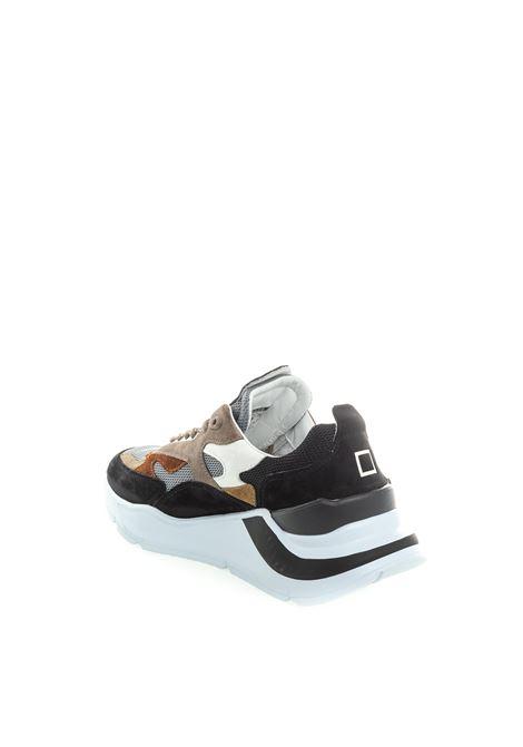 D.A.T.E sneaker fuga mesh taupe D.A.T.E | Sneakers | FUGAMESH-MUD