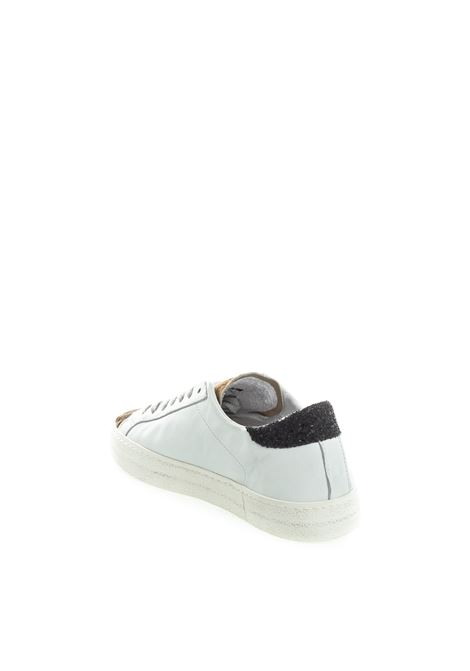 D.A.T.E sneaker hill low pony bianco D.A.T.E | Sneakers | HILL LOW DPONY-WHI/BLACK