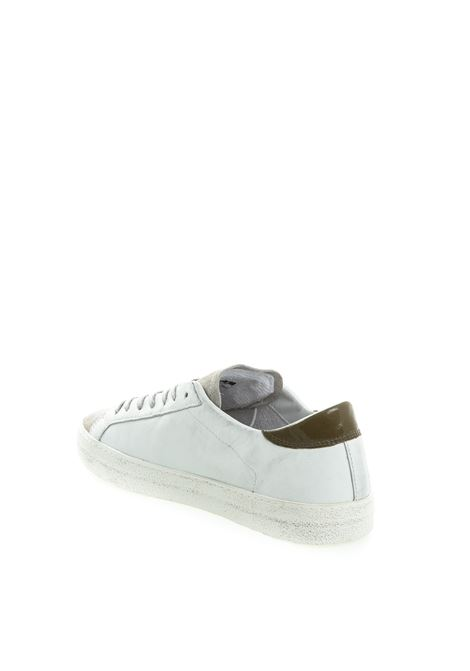 D.A.T.E sneaker hill low bianco/verde DATE | Sneakers | HILL LOWCALF-WHI/ARMY