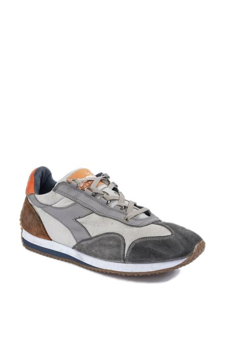 Sneaker equipe dirty grigio/cuoio DIADORA HERITAGE | Sneakers | 174736EQUIPE DIRTY-75043