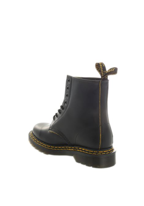 Anfibio 1460double stitch nero DR. MARTENS | Anfibi | 1460DOUBLE STITCH-BLACK/YEL
