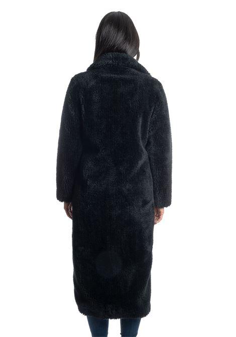 Ecopelliccia orso nero EKOLUK | Pellicce | 19194ORSO-BLK