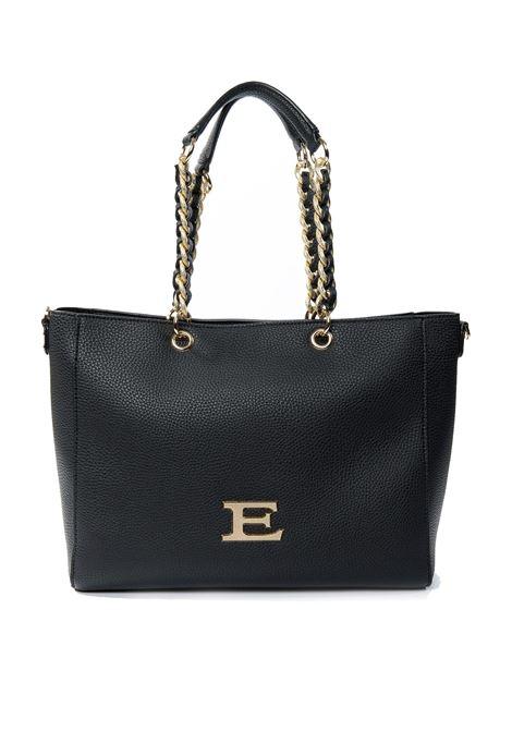 Shopping eba plain nero ERMANNO SCERVINO | Borse a spalla | 031EBA PLAIN-293