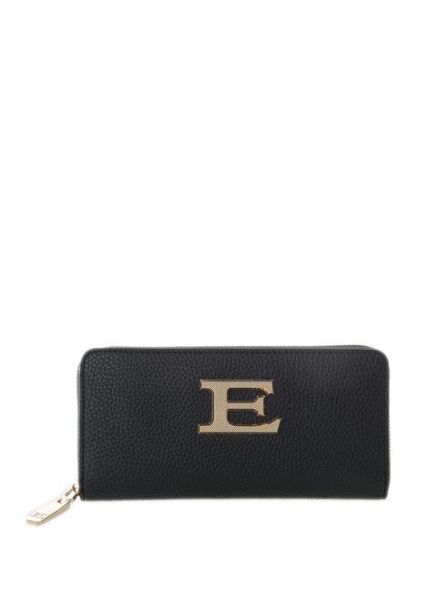 Ermanno scervino portafoglio eba nero ERMANNO SCERVINO | Portafogli | 230EBA PLAIN-293