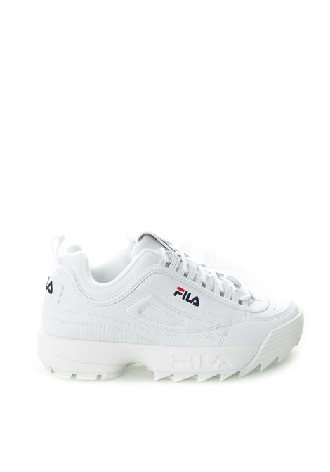 Sneaker Distruptor pelle bianco FILA | Sneakers | 1010302DISTRUPTOR-1FG