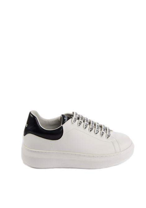 Sneaker logo bianco GAELLE | Sneakers | 1809PELLE-BIANCO