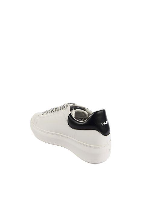 Gaelle sneaker logo bianco GAELLE | Sneakers | 1809PELLE-BIANCO