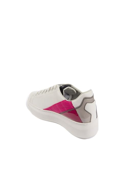 Sneaker pelle fucsia GAELLE | Sneakers | 1810PELLE-FUCSIA