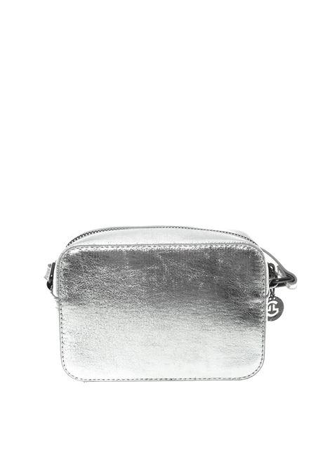 Tracolla s logo argento GAELLE   Borse mini   1860LAMINATO-ARGENTO