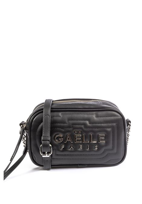Tracolla new metal nero GAELLE | Borse mini | 2042PELLE-NERO