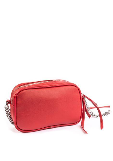 Tracolla new metal rosso GAELLE | Borse mini | 2042PELLE-ROSSO