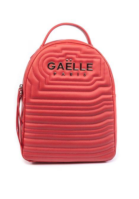 Gaelle zaino new metal rosso GAELLE | Zaini | 2045PELLE-ROSSO