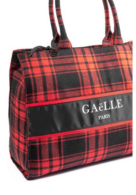 Gaelle shopping tartan rosso GAELLE | Borse a mano | 2078TESSUTO-ROSSO