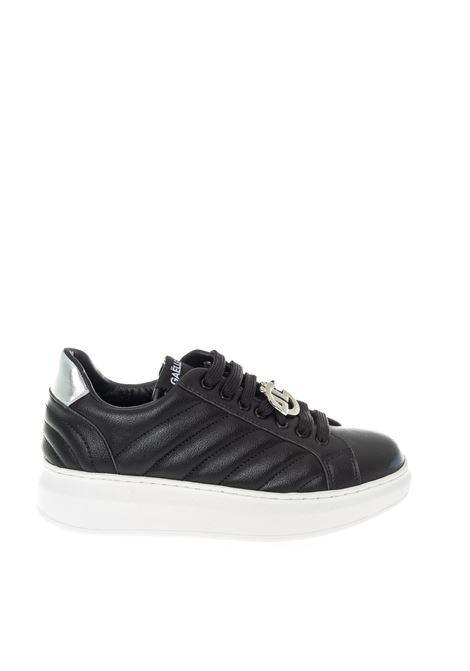 Sneaker chevronne nero GAELLE | Sneakers | 2164PELLE-NERO