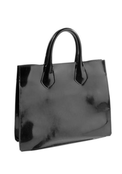 Shopping gum leopard nero GIANNI CHIARINI GUM | Borse a mano | R1708GUM LEOPARD-10885