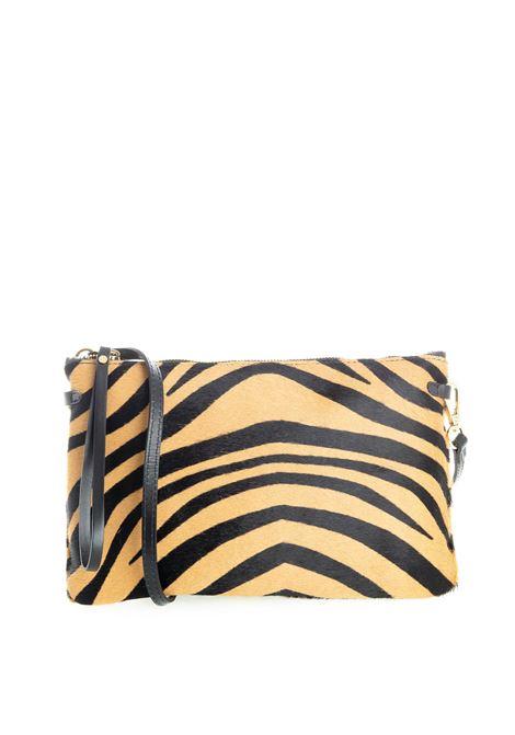 Pochette hermy zebra GIANNI CHIARINI | Borse mini | 3695HERMY-11474