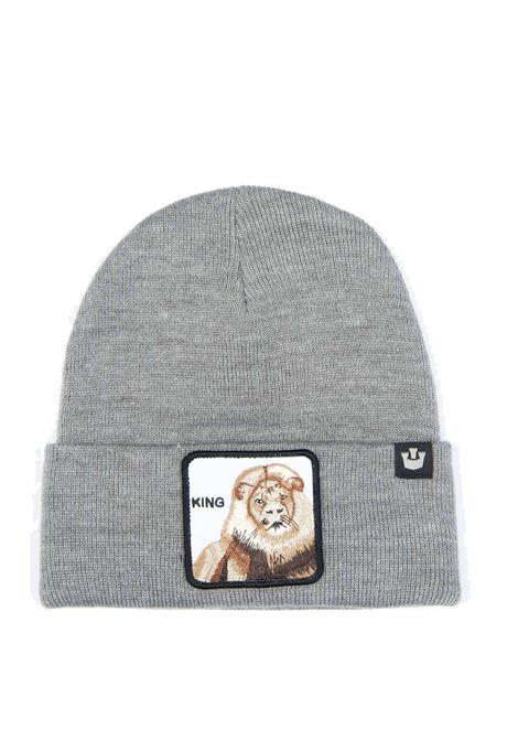 Cappello leone grigio GOORIN BROS | Cappelli | 0121HEAR ME ROAR-GRIGIO