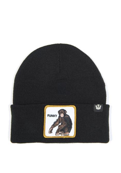 Cappello scimmia nero GOORIN BROS | Cappelli | 0215CHUNKY-NERO