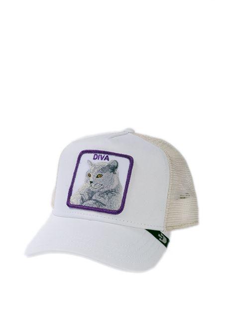 Cappello gatto bianco GOORIN BROS   Cappelli   0727GATTO-WHITE
