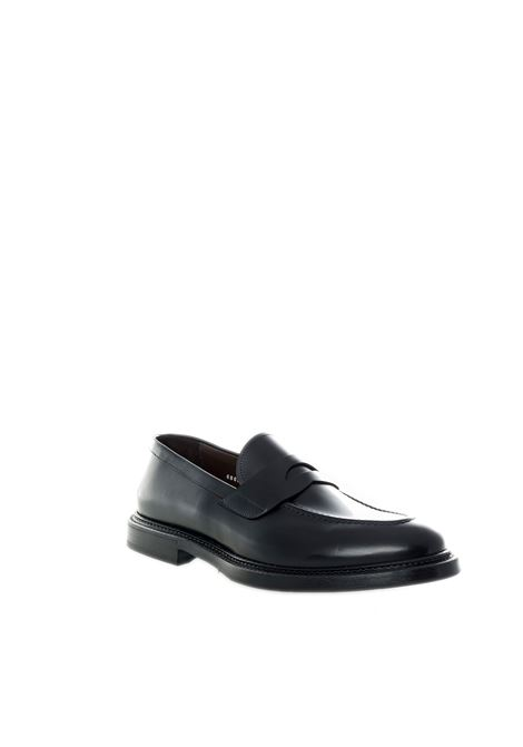 Green george mocassino benda nero GREEN GEORGE | Mocassini | 6063POLISHED-NERO