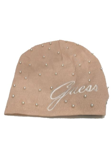 Guess cappello perle cipria GUESS | Cappelli | R7888WOL01-BLUSH