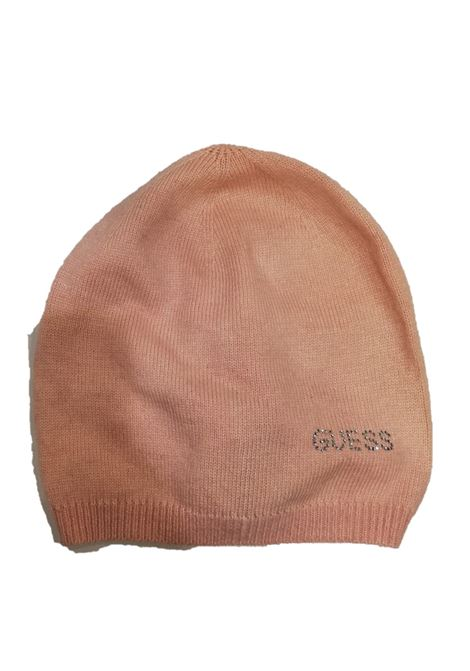 Guess cappello strass cipria GUESS | Cappelli | R7907WOL01-BLUSH