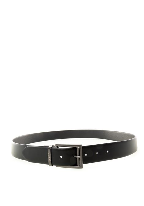 Guess cintura pelle metal nero GUESS | Cinture | BM7300LEA-BLA