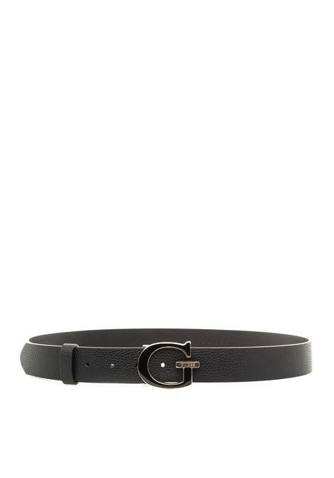 Guess cintura becca nero GUESS | Cinture | BW7337BECCA PANT BELT-BLA