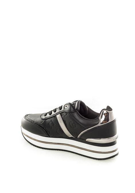 Guess sneaker dafnee nero GUESS | Sneakers | FL7DFEDAFNEE-BLACK