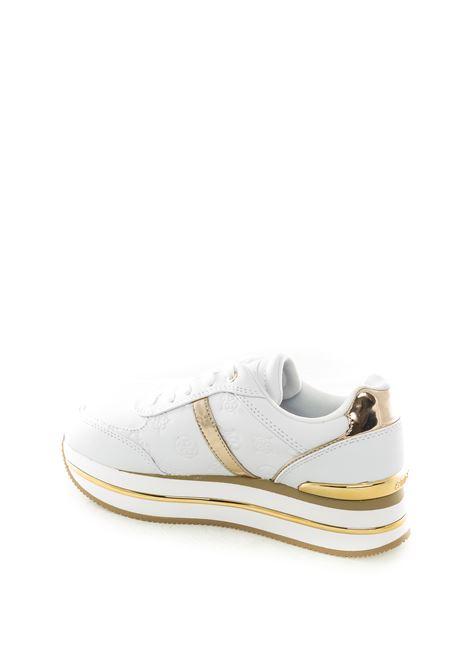 Guess sneaker dafnee bianco GUESS | Sneakers | FL7DFEDAFNEE-WHITE