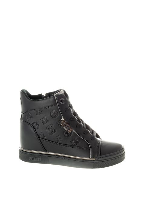 Guess sneaker fabia nero GUESS | Sneakers | FL7FABFABIA-BLACK