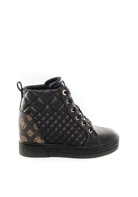 Guess sneaker fase nero/marrone GUESS | Sneakers | FL7FAEFASE-BLACK/BROWN