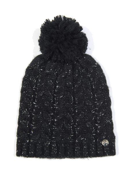 Cappello lana nero/silver GUESS | Cappelli | R8252WOL01-BLA