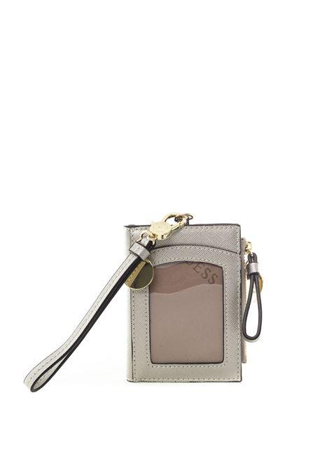 Guess portacarte case silver GUESS | Portafogli | RW7366CARD CASE-SL