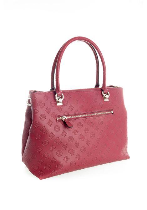 Guess shopping ninette bordeaux GUESS | Borse a spalla | SG7877100NINNETTE-MER