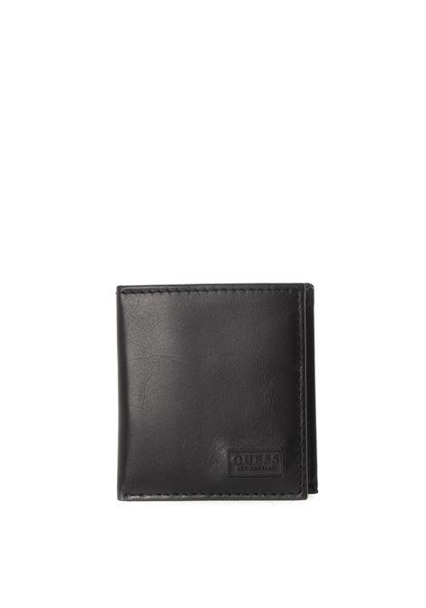 Guess portafoglio reilly small nero GUESS | Portafogli | SMREILREILLY SMALL-BLA