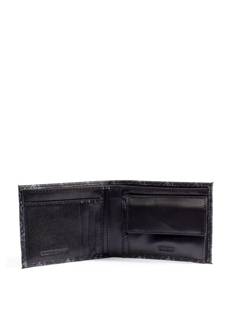 Guess portafoglio logo nero GUESS | Portafogli | SMVEZZVEZZOLA BILLFOLD/COIN POCKET-B