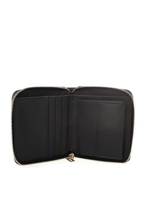 Guess portafoglio mini kamryn nero GUESS | Portafogli | VG6691370KAMRYN-BLA