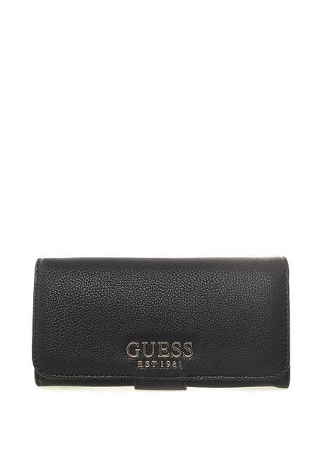 Guess portafoglio g chain nero GUESS | Portafogli | VG7739590G CHAIN-BLA