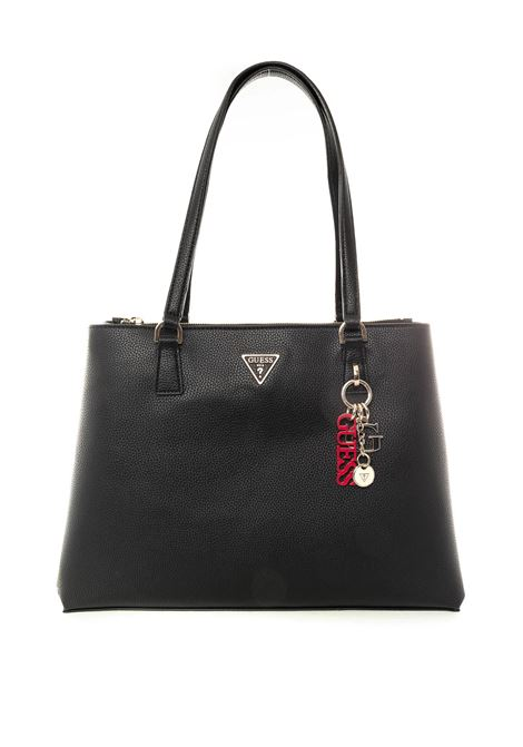 Guess becca luxury nero GUESS | Borse a spalla | VG7742230BECCA LUXURY-BLA