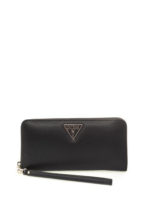 Guess portafoglio zip becca nero GUESS | Portafogli | VG7742460BECCA-BLA